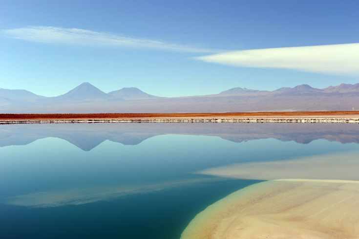 Atacama desert in Northern Chile.
