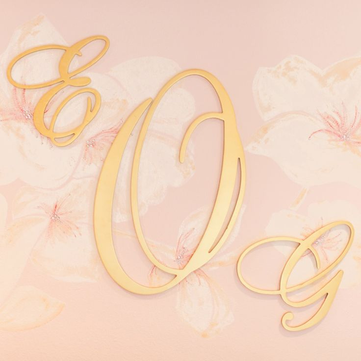66 best ☆Personalize Space! Fun Wall Monogram Letter For focal ...