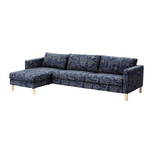 KARLSTAD Sofa and chaise lounge IKEA A range of coordinated covers makes it easy for you to give your furniture a new look.