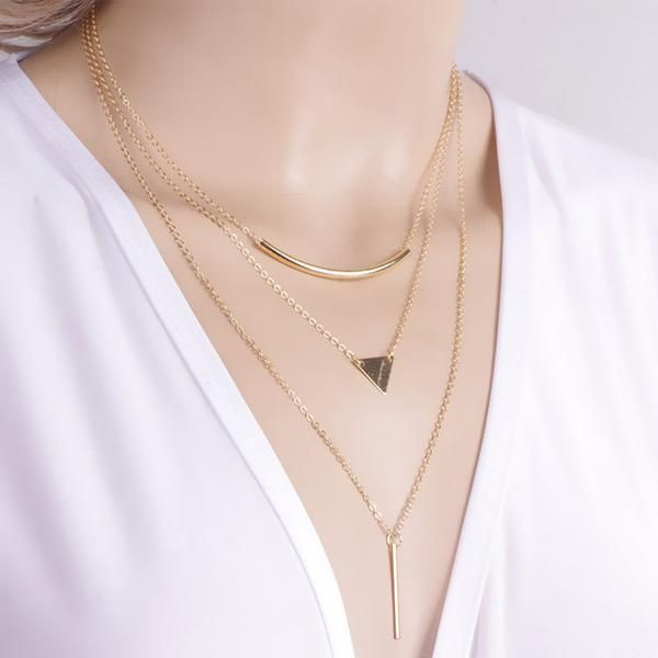 LadyArc Multi Layer Necklace