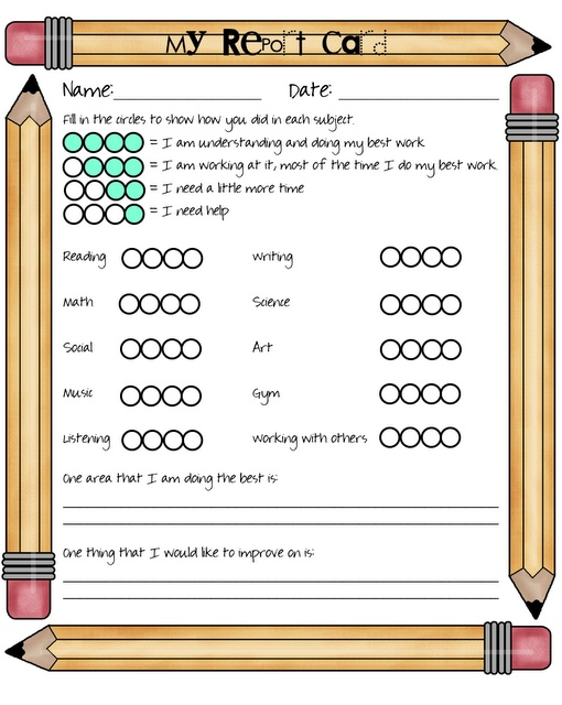student self assessment for conferences UK Eduacation Good Site @ http://www.smartyoungthings.co.uk