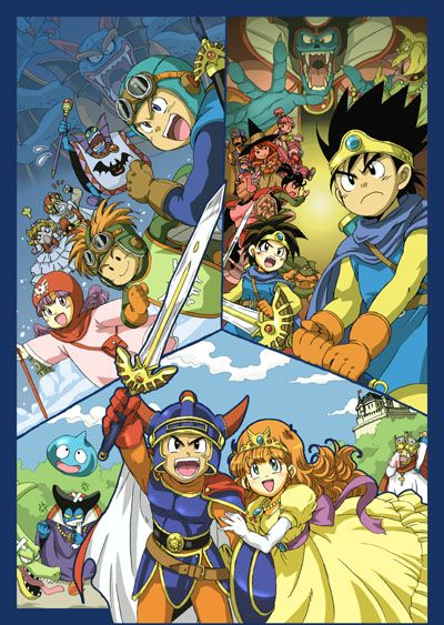 dragon quest 3 | Dragon Quest I, II, and III