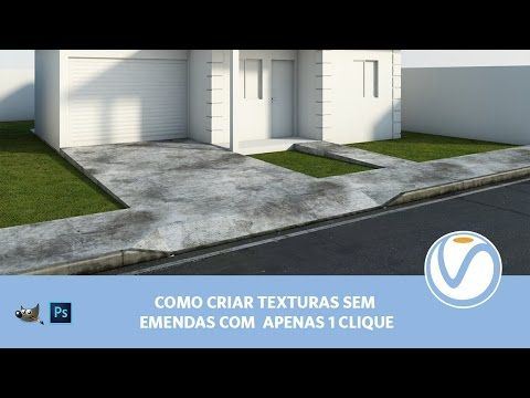 Seamless Texture with Vray | Vray Tutorials