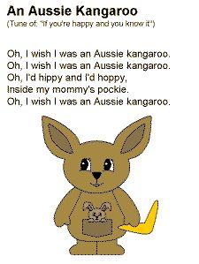 I A Kangaroo Song Kangaroos, Aussies and...