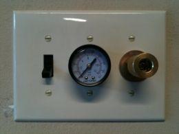 Remote Air Compressor Panel