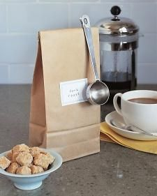 Why Didn't I Think of That: Clip-On Coffee Spoon: Clip On Coffee, Inexpensive Tie, Metal Measuring, Tie Clips, Measuring Spoons, Housewarming Gifts