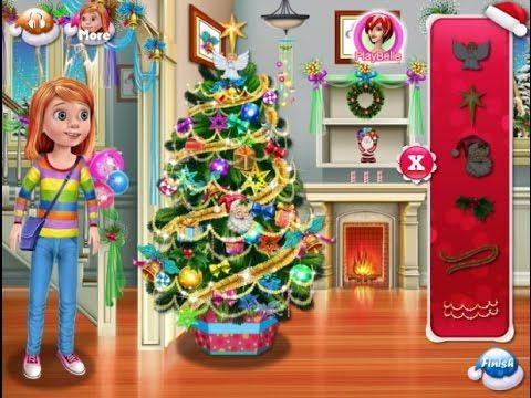 Inside Out- Riley Anderson Shopping And Christmas Decoration - Game Tuto...