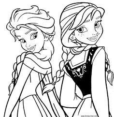 Frozen, Disney, para, colorir, Princesa, do Gelo, pintar, imprimir                                                                                                                                                      Mais
