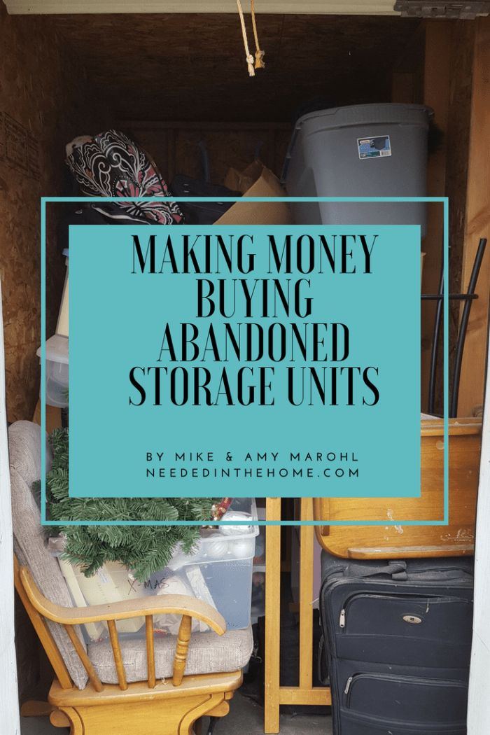 Making Money Buying Abandoned Storage Units as a Family Business or Side Hustle #homebusiness #sidehustle #auctionresale #storageauctions #storageauctionfinds by neededinthehome