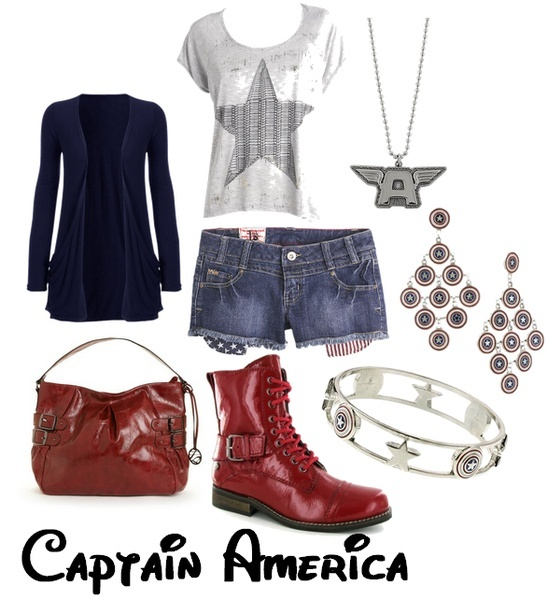 I found 'Captain America Outfits' on Wish, check it out!