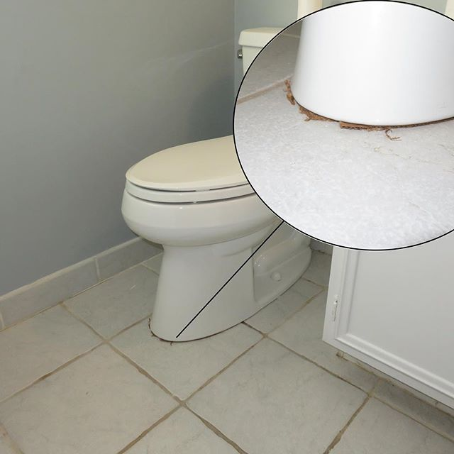 Mr Flipper Used Cardboard To Shim This Toilet I Just Don T Know Anymore Fliphouse Flipped Louisvillere Flipping Houses Toilet Home Inspection