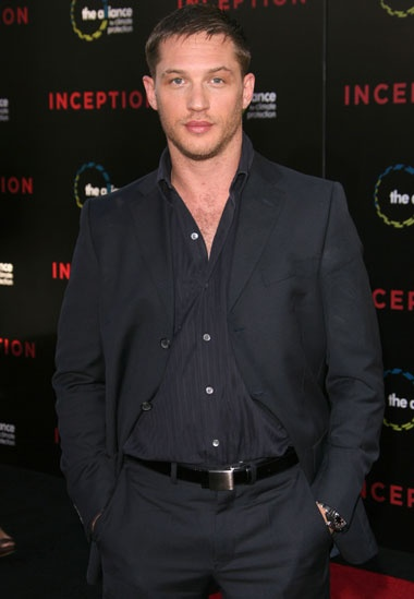 TOM HARDY - just watched the newest Batman (Dark Knight Rises) movie....he was incredible!