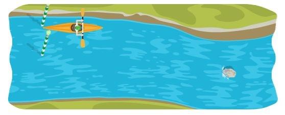 Londra 2012, canoa slalom: il nuovo gioco doodle ti porta tra le rapide, aspettando la Idem