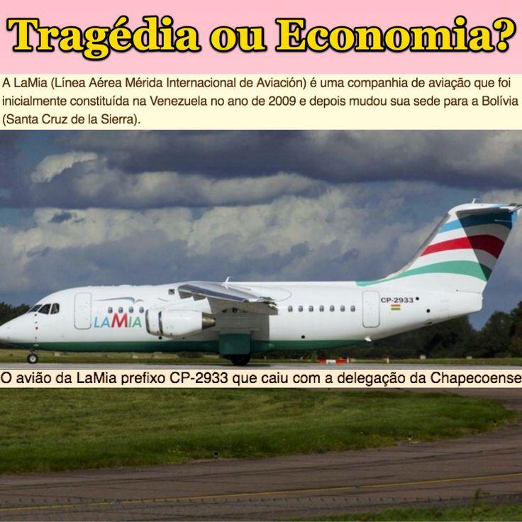 Tragédia ou Economia? [G1] http://g1.globo.com/mundo/noticia/2016/11/aviao-com-equipe-da-chapecoense-sofre-acidente-na-colombia.html ②⓪①⑥ ①① ②⑨