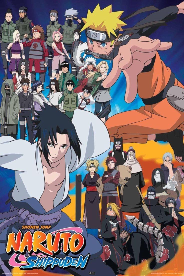 0118 Наруто Ролях ТВ Аниме плакат Плакаты для Гостиной Стены 40 х 60 см-Плакат на стену Дома декор плакат