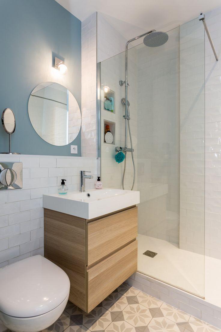 Best Renovation Paris Images On Pinterest Bathroom Small - Faience cuisine et tapis de sol clio 3 estate