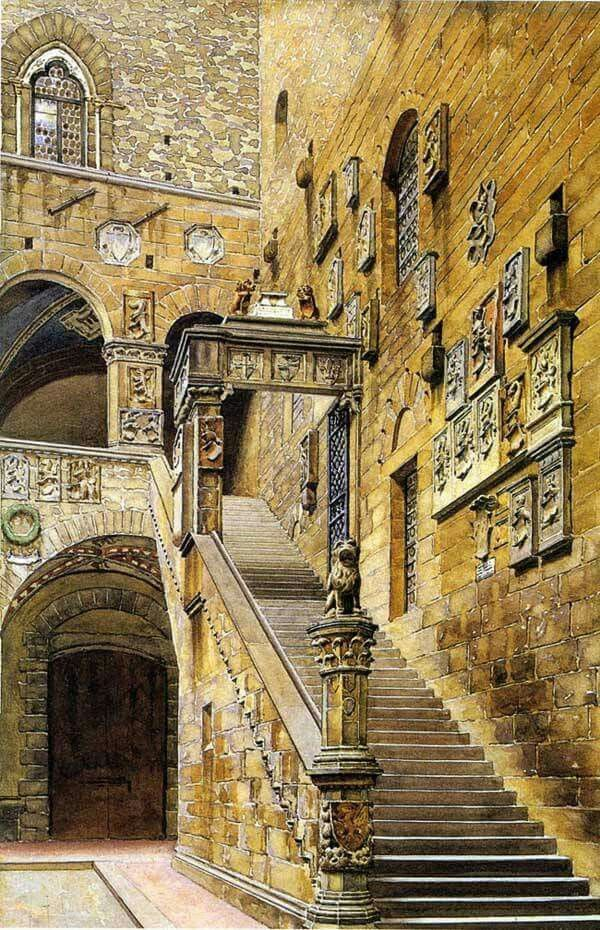 Cortile del Bargello, Firenze