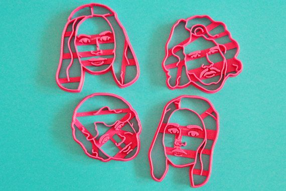 Cookie Cutter Set Game of thrones / Daenerys by Cookillu on Etsy  Your Portrait Face Portrait custom  custom cookie cutter Personalized gift / Custom Selfie Cookie Cutter / for Bridal Shower / Anniversary
