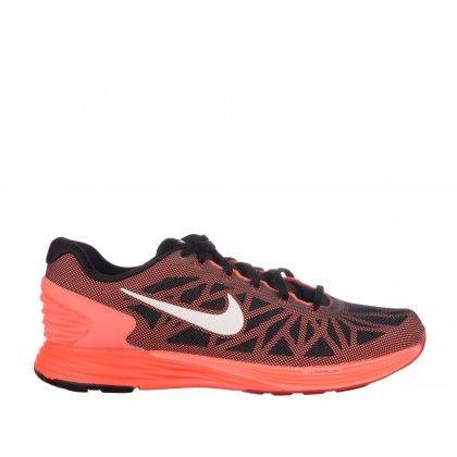 Pantofi sport NIKE rosu negru, Lunarglide