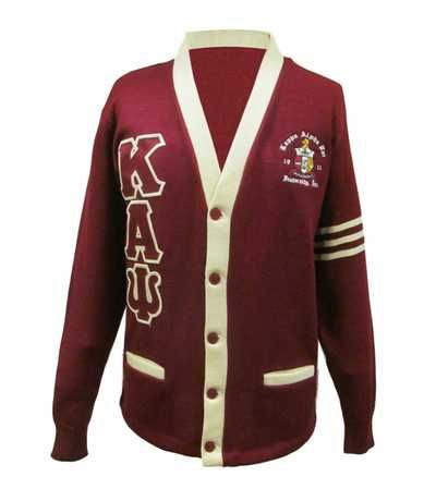 Kappa alpha psi greek letter cardigan
