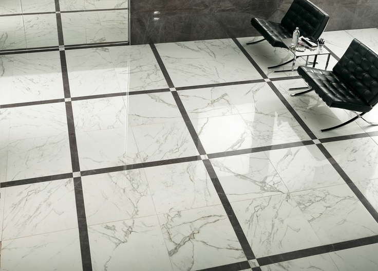 Marvel calacatta color body porcelain stoneware for Most popular floor tile