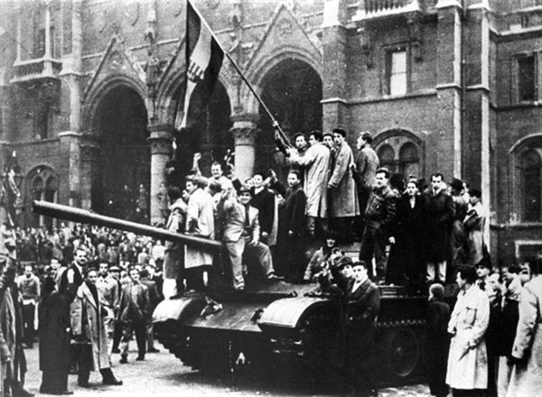 1956 Revolution against USSR - no one came to help Hungary, the world sat by and ignored the cries for help...sad day!