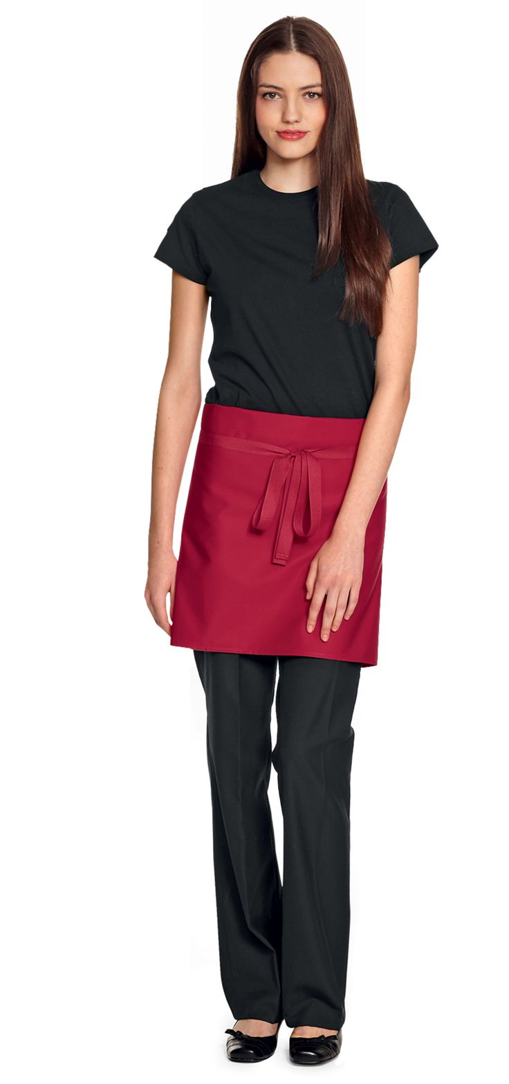 Short Apron, Red