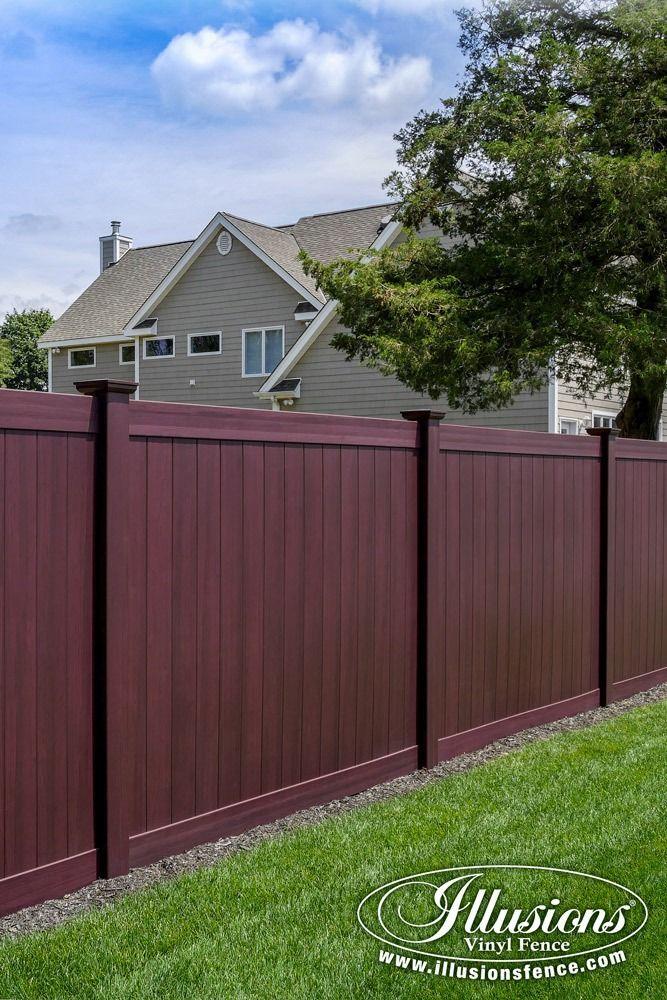 Vinyl Yard Fence Ideas