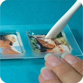 resin photo necklace how-to
