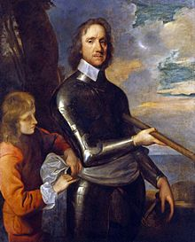 Oliver Cromwell c 1649 by Robert Walker.