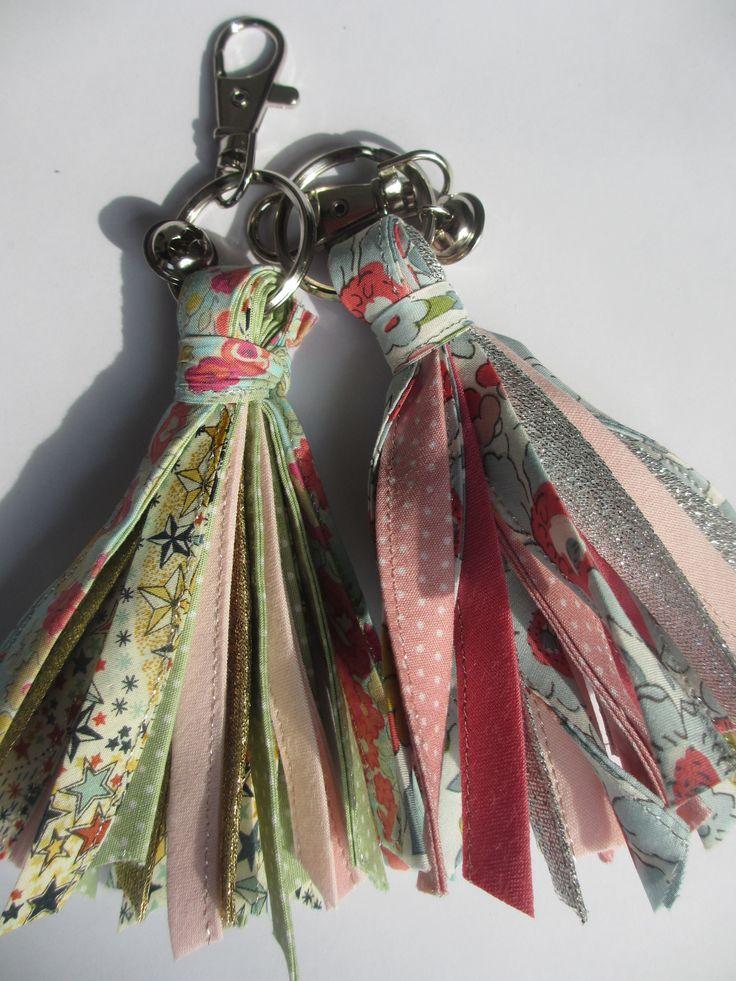 DIY tassels. Para decorar un bolso