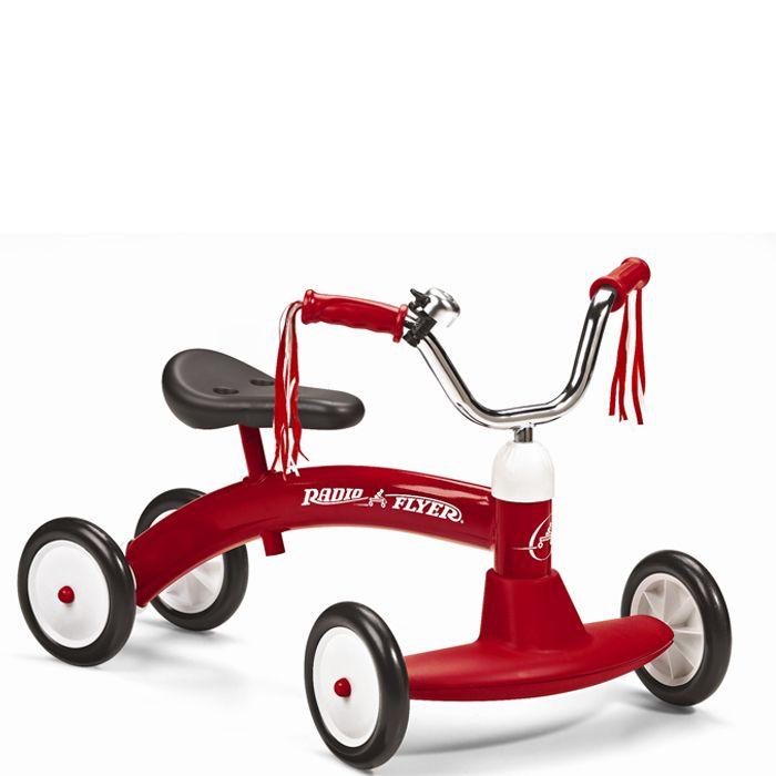 Rotes Dreirad 20 Scoot About von Radio Flyer