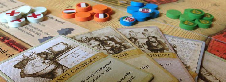 Tammany Hall Board Game - Pandasaurus Games