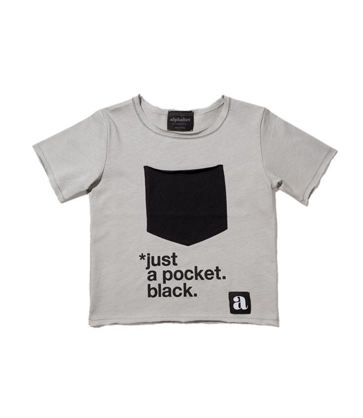 JUST gray t-shirt