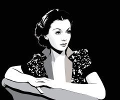 Vivien Leigh by pin-n-needles