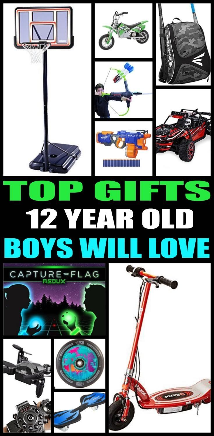 Top gifts for 12 year old boys! Here are the best gifts for that special boys 12th birthday or for their christmas present. Twelve year old boys will love any of the products from this top gift list. Educational and fun gift ideas for a boys twelfth birthday.