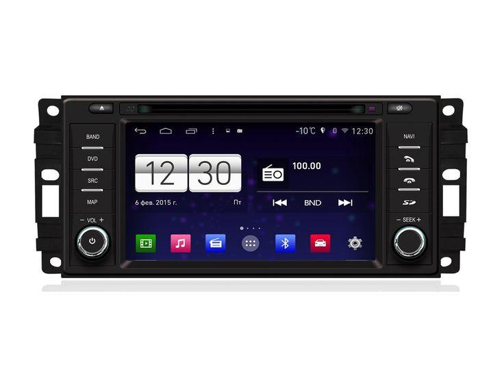 Штатная магнитола FarCar s160 для Chrysler Voyager, Dodge, Jeep на Android (m201)