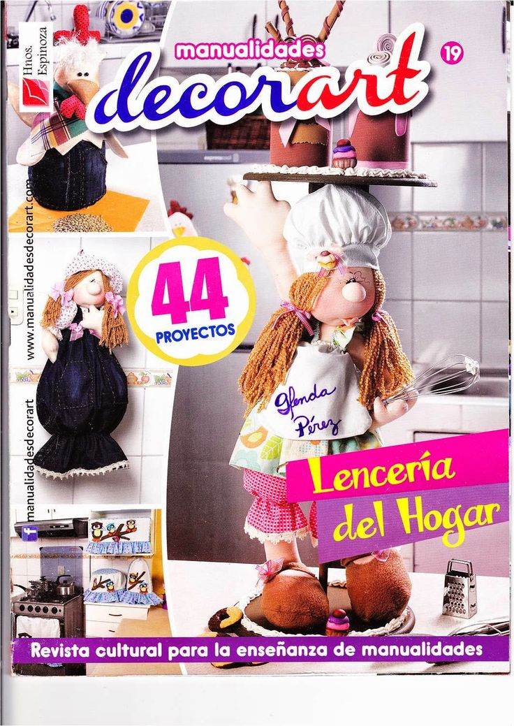 68 best ideas about alejandra sandes on pinterest bottle - Manualidades de tela para el hogar ...