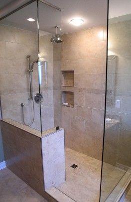 Besétálós Walk-in zuhanykabin