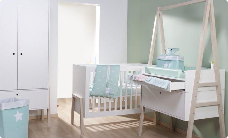 Childwood Nordic Acacia babykamer. Een sfeervolle kamer met een scandinavische look.