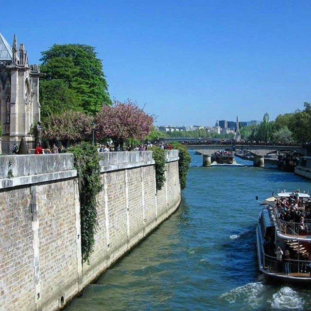 The beauty of Paris lies in moments like this  #memories #breathtaking  #thatview #thisisparis #instamoments #instaparis #beautiful #picturesque #architecture #notredame #riverseine #outandabout #afternoonstroll #melbournelifelovetravel #blueskies #vibrant #colourful #sopretty #visitparis #france #spring #scenic #landscape #explore #live #enjoy #love #travel