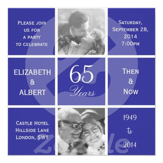 65th Wedding Anniversary Gift For Parents : ... 65th wedding anniversary ideas Pinterest Sapphire wedding, Wedding
