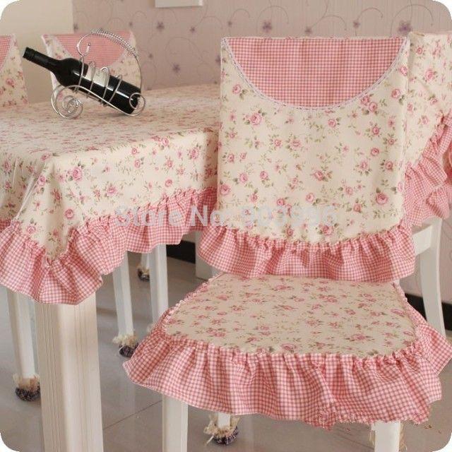 Н . н . # 56 толще версия деревенский хлопок ткань стул подушка + стул крышки - не содержат скатерть