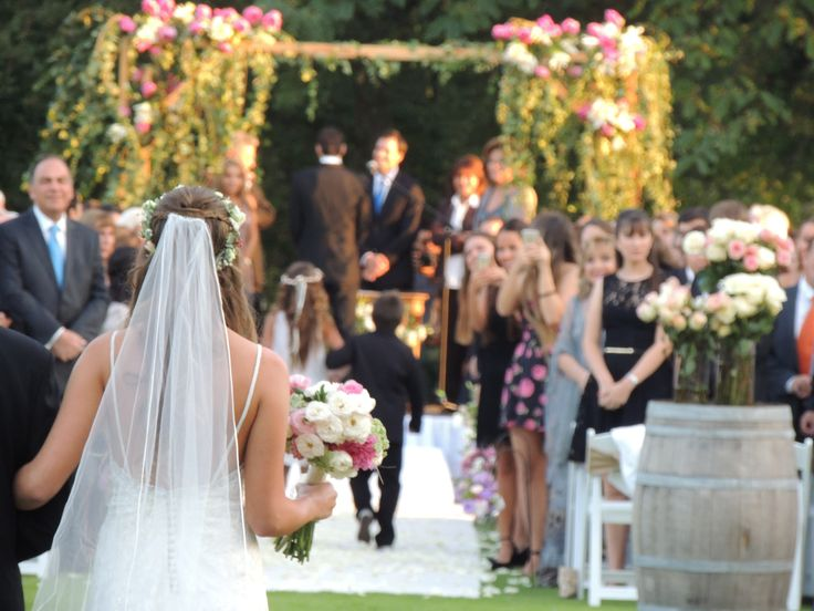 Ceremonia, matrimonio, wedding, novia, ramo de novia, bride