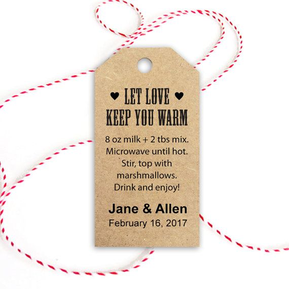 Hot Chocolate Recipe Let Love Keep You Warm by CrossvineDesigns