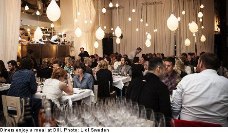 Lidl behind Swedish restaurant Dill with dishes by 2 star London chef Michael Wignall