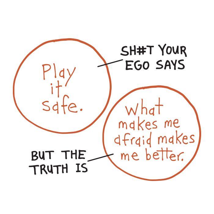 Sometimes you have to tell your ego to shut up. #spiritual #spirituality  #inspiration #meditation #meditations #manifestation #awakening #awareness #consciousness #powerthoughtsmeditationclub