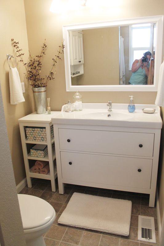 Bebe A La Mode Designs Master Bath With Lots Of Ikea Components