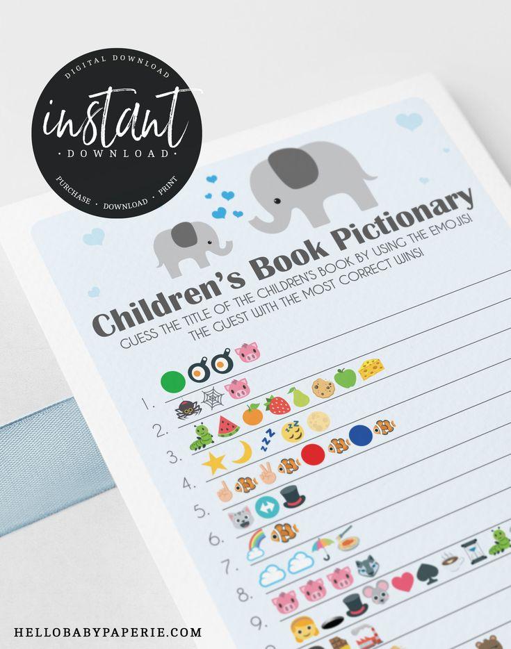 Boy Little Peanut Children's Book Emoji Pictionary Game ...