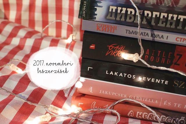 Tekla Könyvei – könyves blog: 2017. novemberi beszerzések